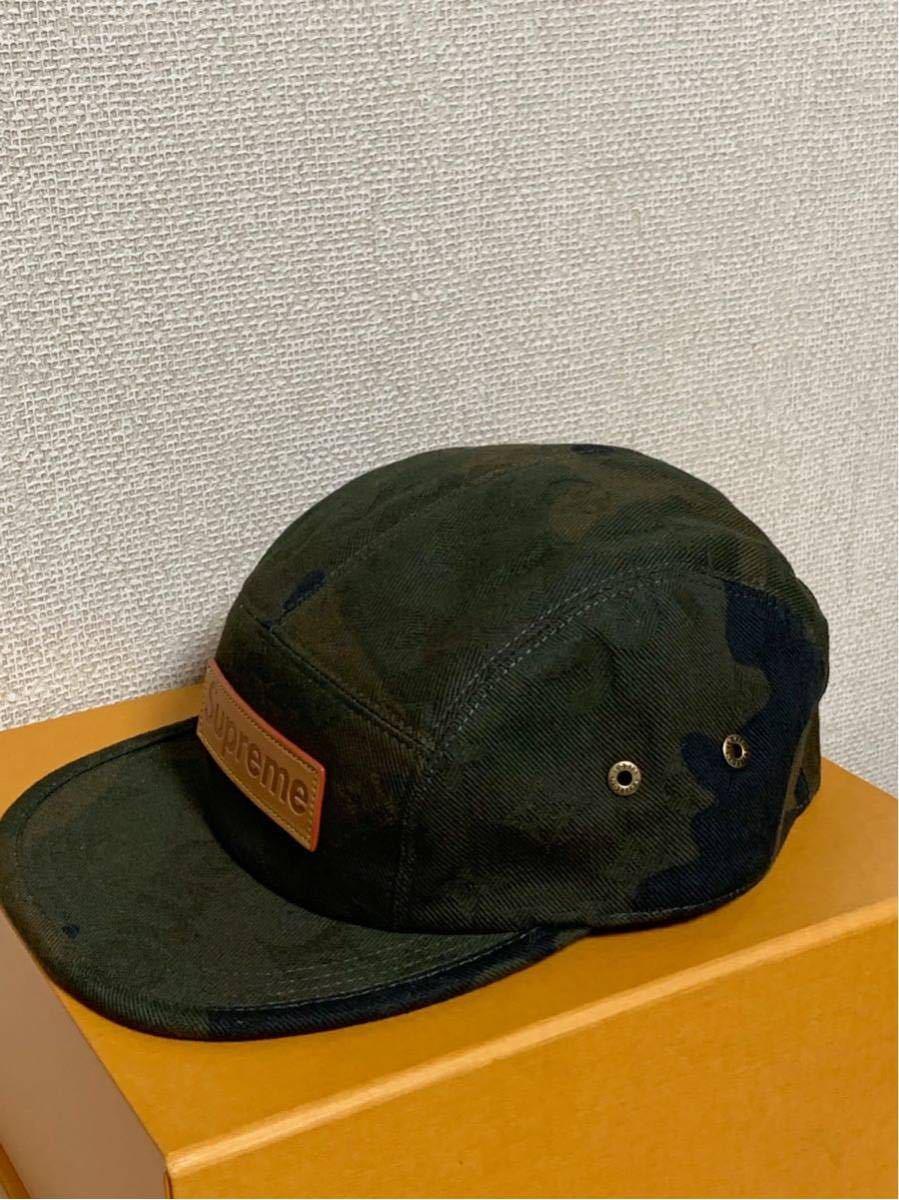 シュプリーム×ルイヴィトン*コラボキャップ帽子*カモフラージュMP1875*Supreme×LOUIS VUITTON PANELS SP CAMOUF*新品未使用_画像2