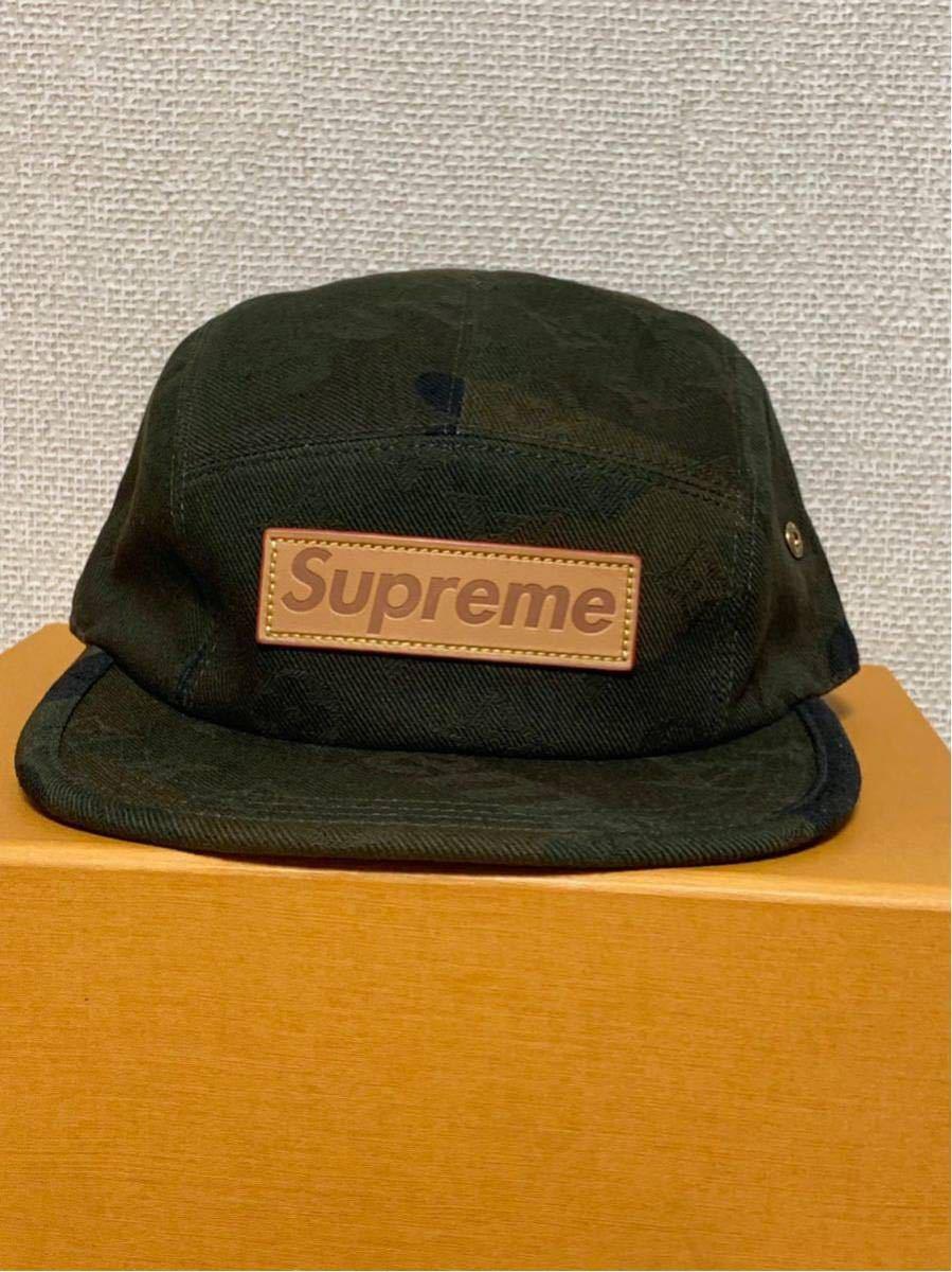 シュプリーム×ルイヴィトン*コラボキャップ帽子*カモフラージュMP1875*Supreme×LOUIS VUITTON PANELS SP CAMOUF*新品未使用_画像10