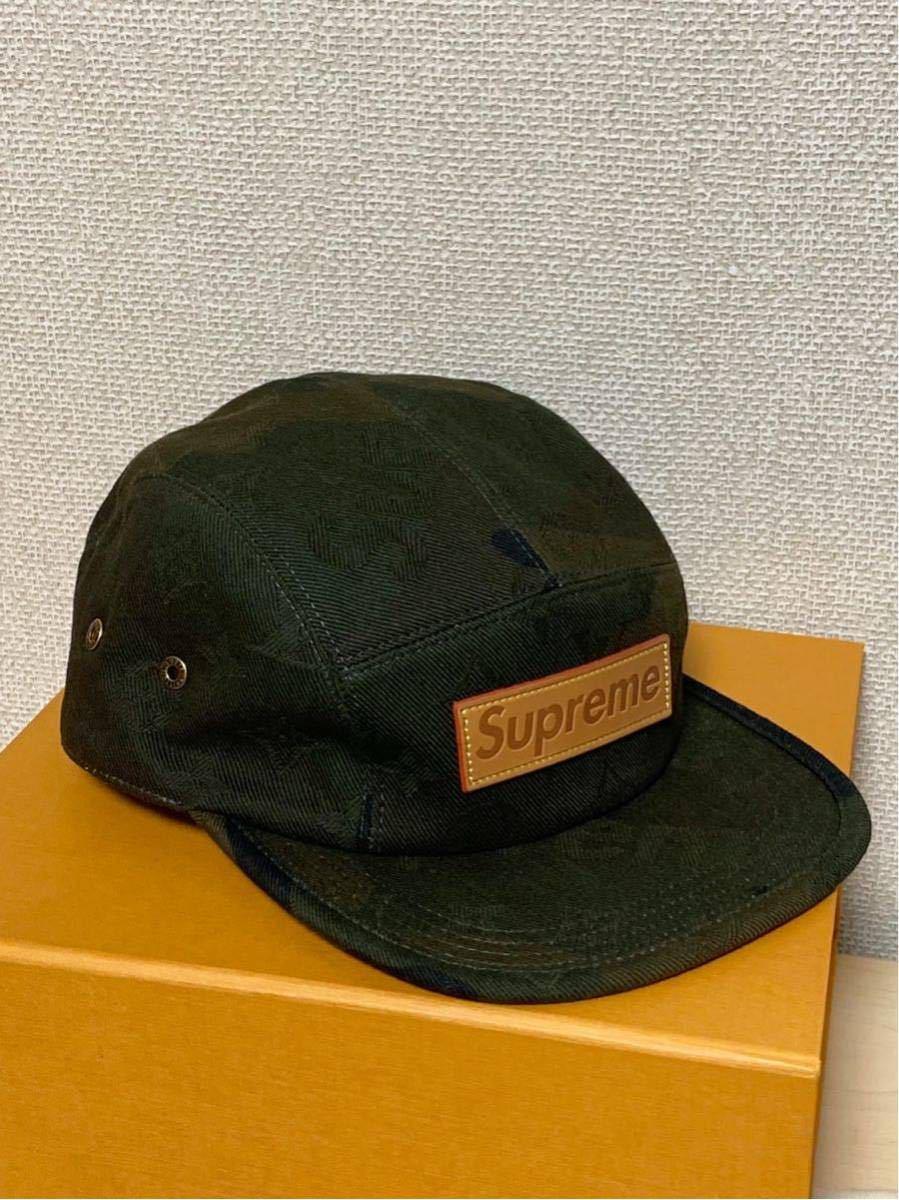 シュプリーム×ルイヴィトン*コラボキャップ帽子*カモフラージュMP1875*Supreme×LOUIS VUITTON PANELS SP CAMOUF*新品未使用_画像3