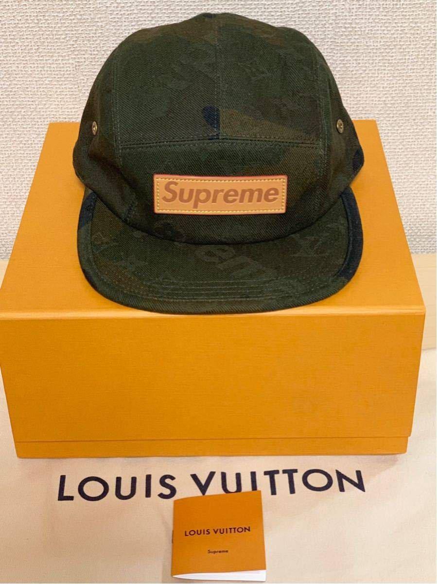 シュプリーム×ルイヴィトン*コラボキャップ帽子*カモフラージュMP1875*Supreme×LOUIS VUITTON PANELS SP CAMOUF*新品未使用