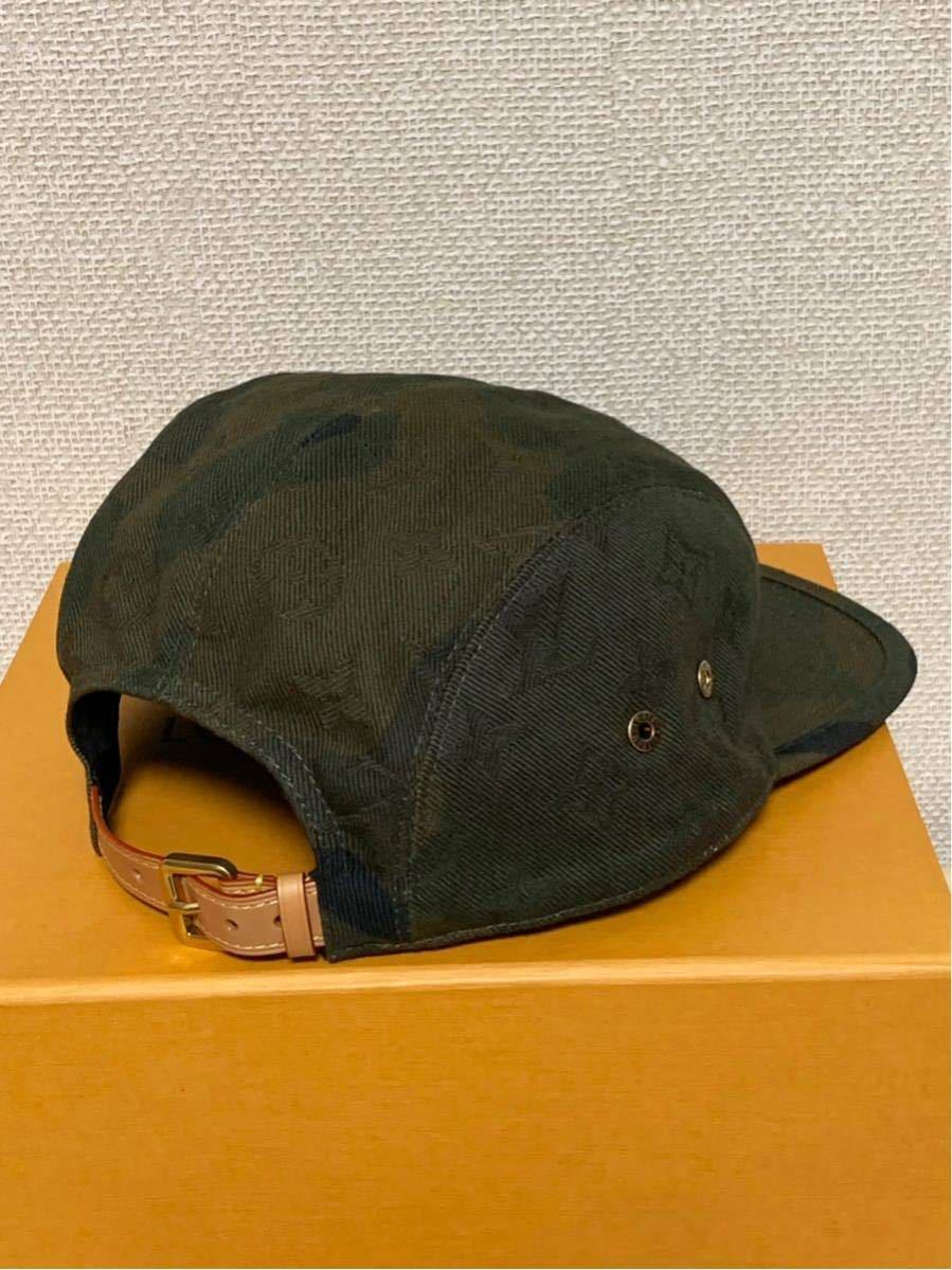 シュプリーム×ルイヴィトン*コラボキャップ帽子*カモフラージュMP1875*Supreme×LOUIS VUITTON PANELS SP CAMOUF*新品未使用_画像5