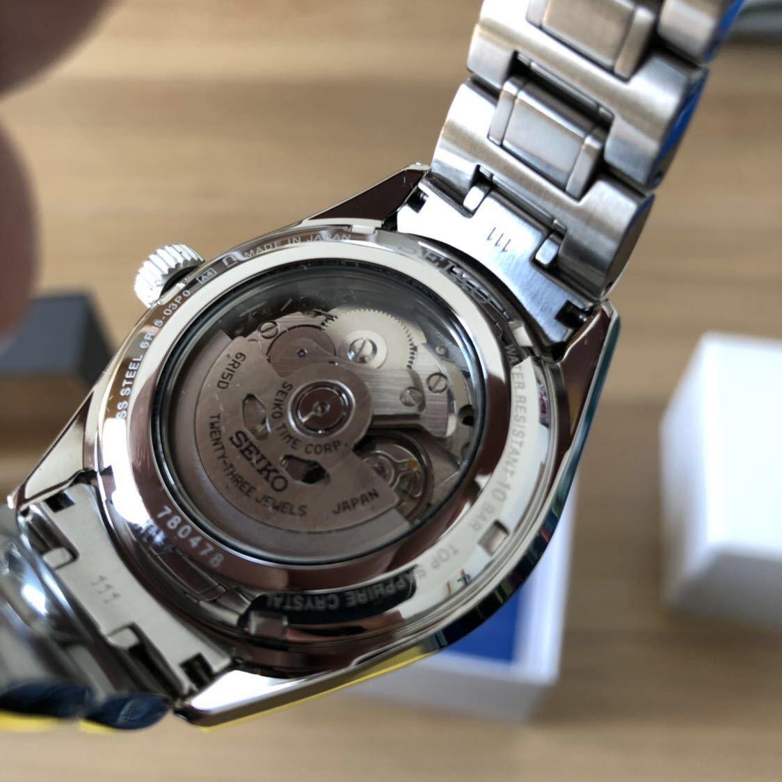 SEIKO PRESAGE SARX035 セイコー プレザージュ 機械式 メカニカル 腕時計 自動巻_画像7