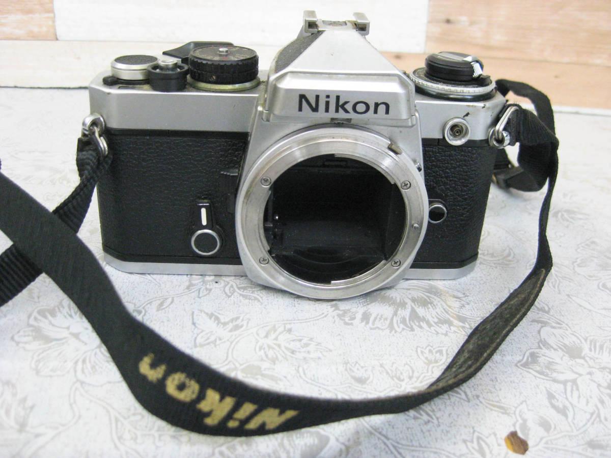 ジャンク◎NIKON ニコン フイルムカメラ ボディ 昭和レトロ◎D-18_画像1