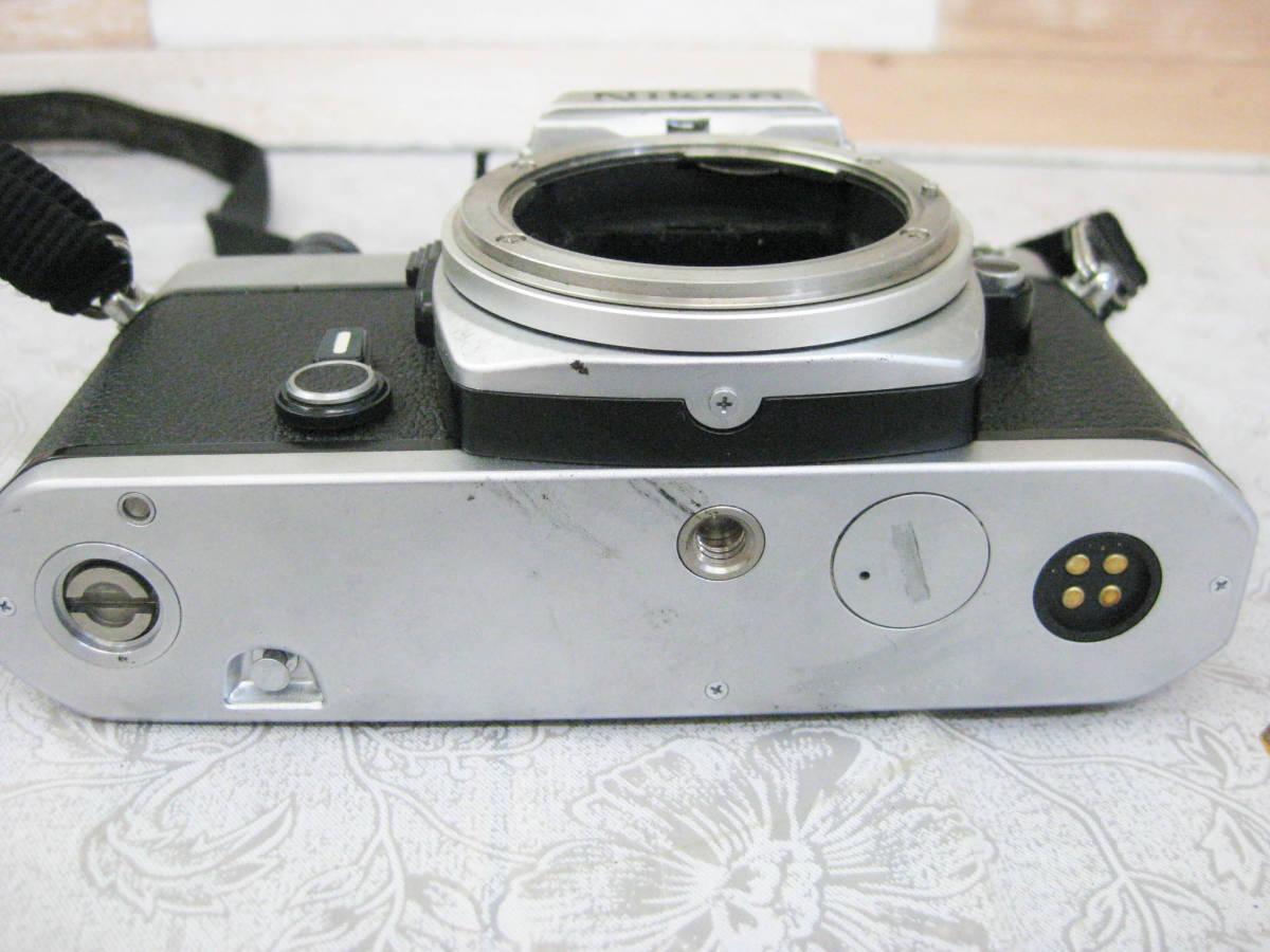 ジャンク◎NIKON ニコン フイルムカメラ ボディ 昭和レトロ◎D-18_画像5
