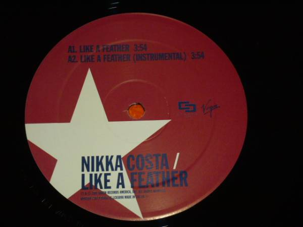 NIKKA COSTA/LIKE A FEATHER/HOPE IT FELT GOOD / 2001年盤 / VUST199 / EU盤 / 試聴検査済み_画像3
