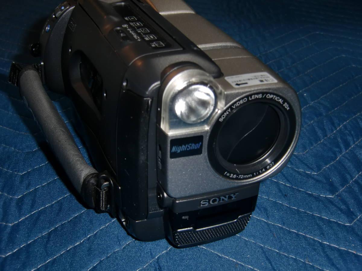 SONY ソニー CCD-TRV80 8mm ビデオカメラ Hi8 美品_画像5