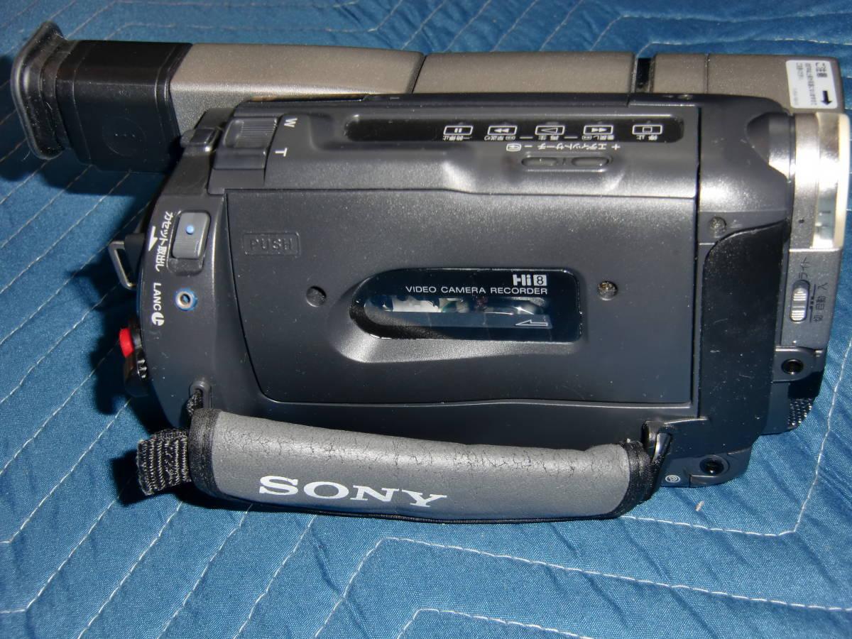 SONY ソニー CCD-TRV80 8mm ビデオカメラ Hi8 美品_画像4