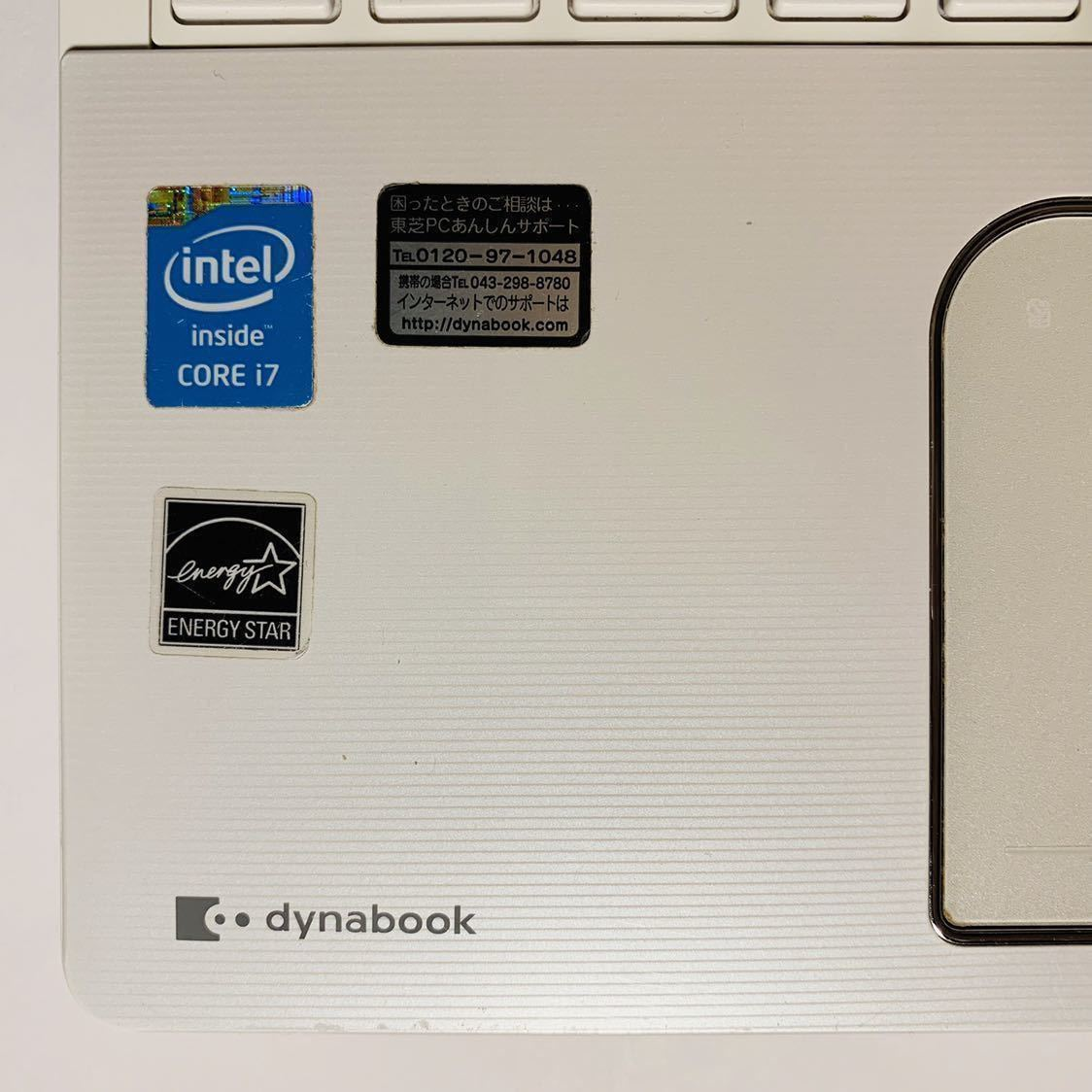 ◆東芝 Core i7 新品SSD500GB メモリ16GB Windows 10◆dynabook T554/76LWS◆_画像3