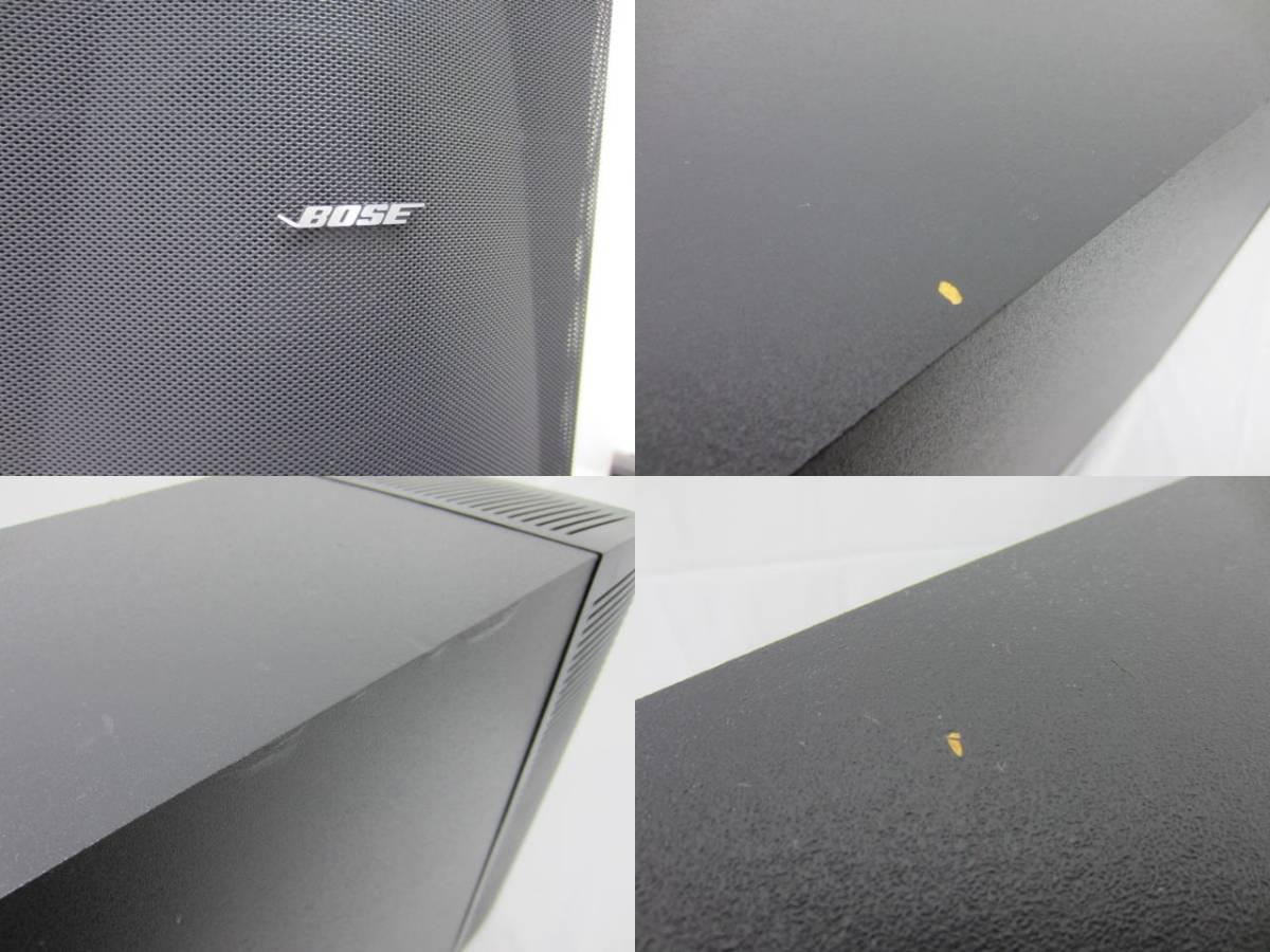 BOSE ボーズ 【PS-18】【AV-28】 サテライトスピーカー5個セット 中古品 ジャンク ケーブル・操作ガイド・リモコンあり_画像4