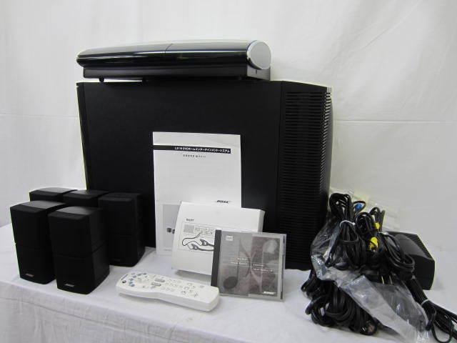 BOSE ボーズ 【PS-18】【AV-28】 サテライトスピーカー5個セット 中古品 ジャンク ケーブル・操作ガイド・リモコンあり