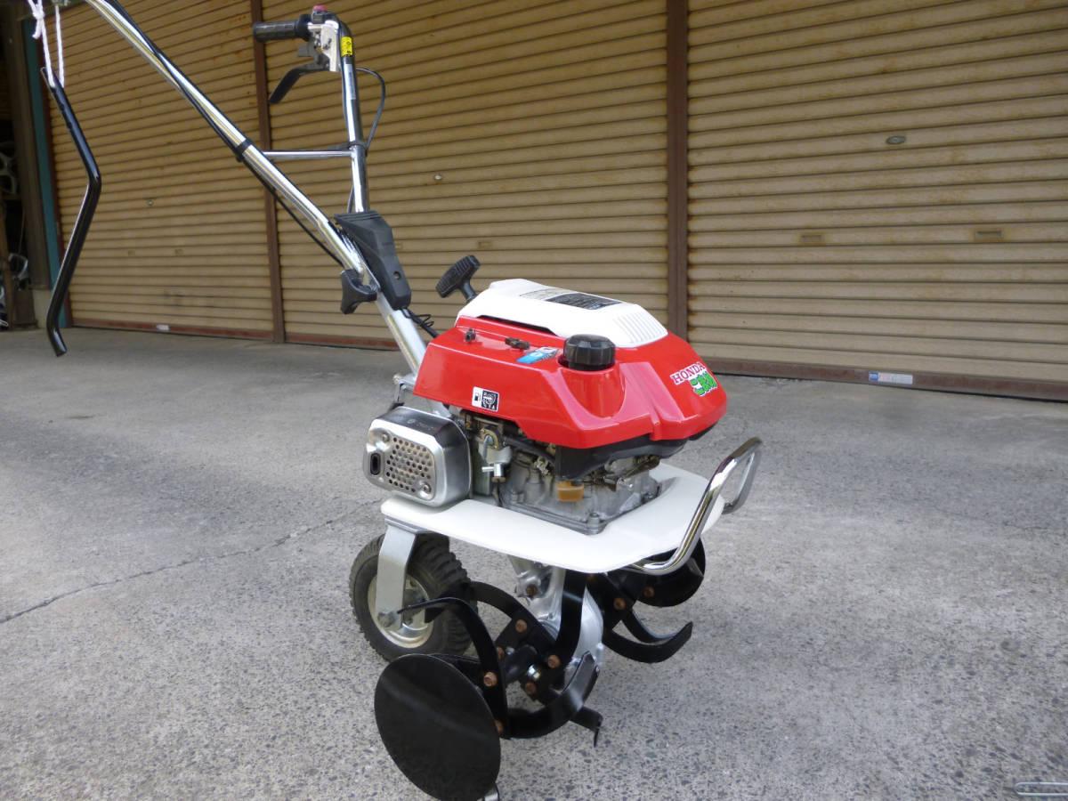 ホンダ管理機 こまめ F210 耕うん爪新品  移動車輪 抵抗棒付き。