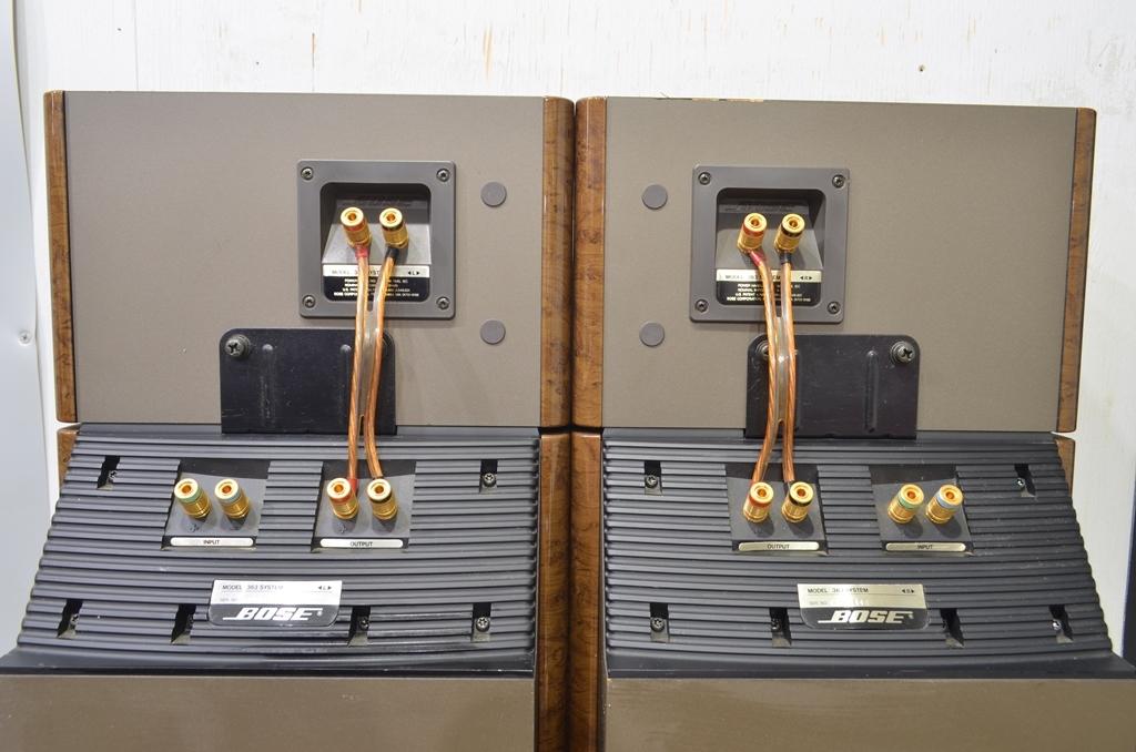 BOSE ボーズ スピーカー Model 363 SYSTEM ペア 動作品_画像6