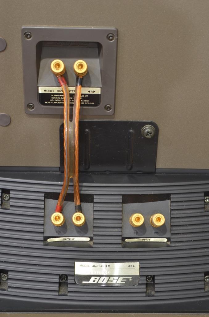 BOSE ボーズ スピーカー Model 363 SYSTEM ペア 動作品_画像7