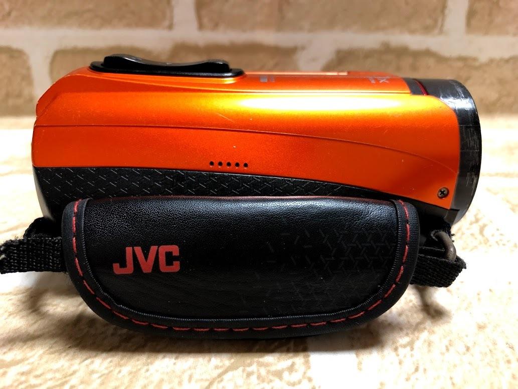 JVC/ビクター Everio 防水 防塵 ハイビジョンメモリームービー GZ-R300-D 現状中古 ジャンク扱い品(A489)_画像7