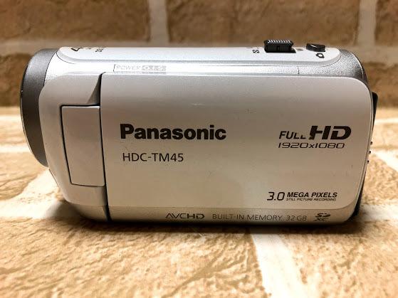 Panasonic/パナソニック HDC-TM45 デジタルビデオカメラ 現状中古 ジャンク扱い品(A472)