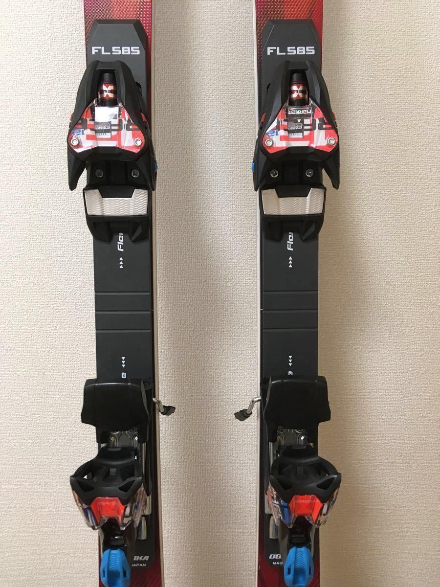 OGASAKA TC - SA 165 cm 小回り ショートターン 用 FL585 スキー ビンディング プレート セット オガサカ マーカー_画像4