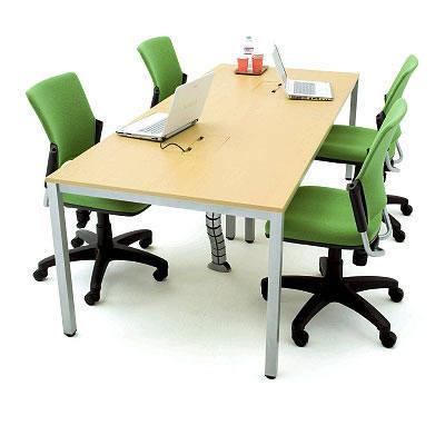 OA ミーティングテーブル ナチュラル(中古) 会議テーブル 作業台
