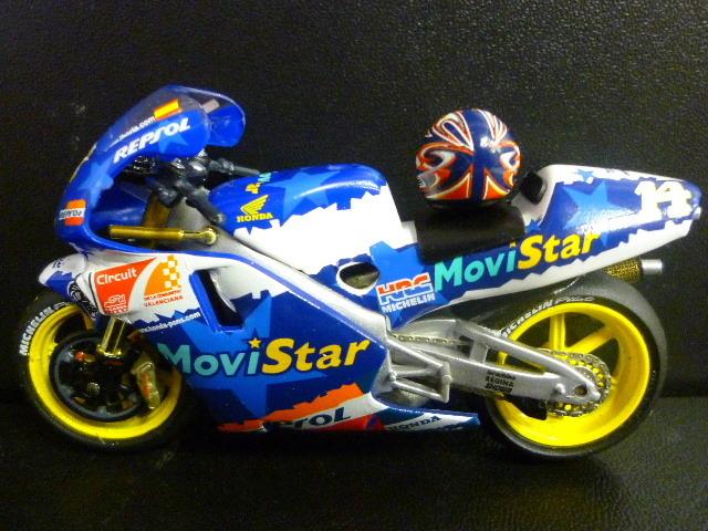 1/24 レプソル モヴィスター ホンダ NSR500 MoviStar REPSOL HONDA NSR #14 1999  ★Juan Borja ヘルメット付き_画像1