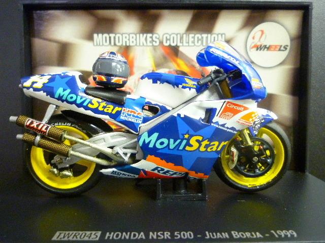 1/24 レプソル モヴィスター ホンダ NSR500 MoviStar REPSOL HONDA NSR #14 1999  ★Juan Borja ヘルメット付き_画像4