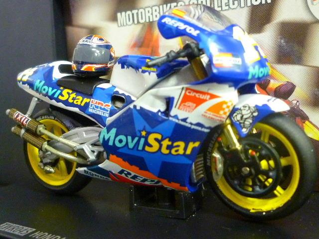 1/24 レプソル モヴィスター ホンダ NSR500 MoviStar REPSOL HONDA NSR #14 1999  ★Juan Borja ヘルメット付き_画像5