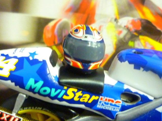 1/24 レプソル モヴィスター ホンダ NSR500 MoviStar REPSOL HONDA NSR #14 1999  ★Juan Borja ヘルメット付き_画像7