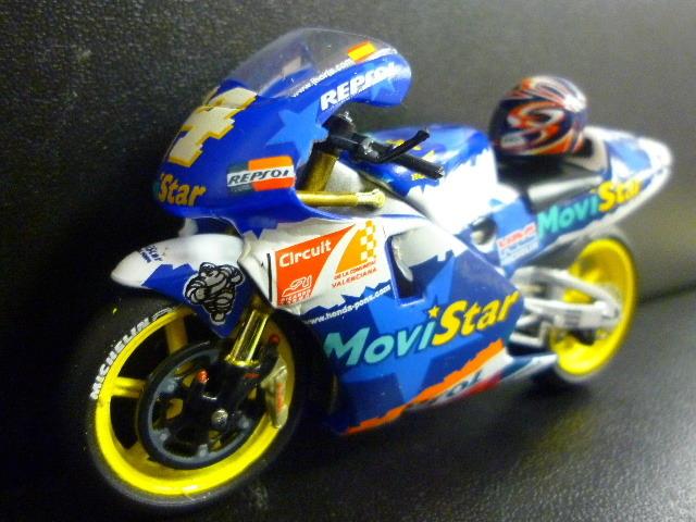 1/24 レプソル モヴィスター ホンダ NSR500 MoviStar REPSOL HONDA NSR #14 1999  ★Juan Borja ヘルメット付き_画像2