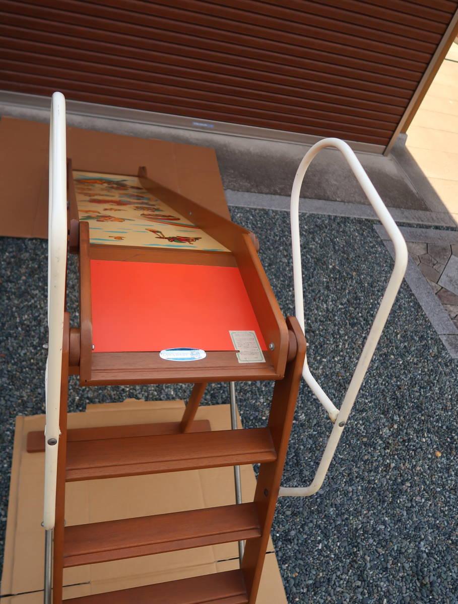 木製 レトロ 滑り台  長期保管中古品_画像7