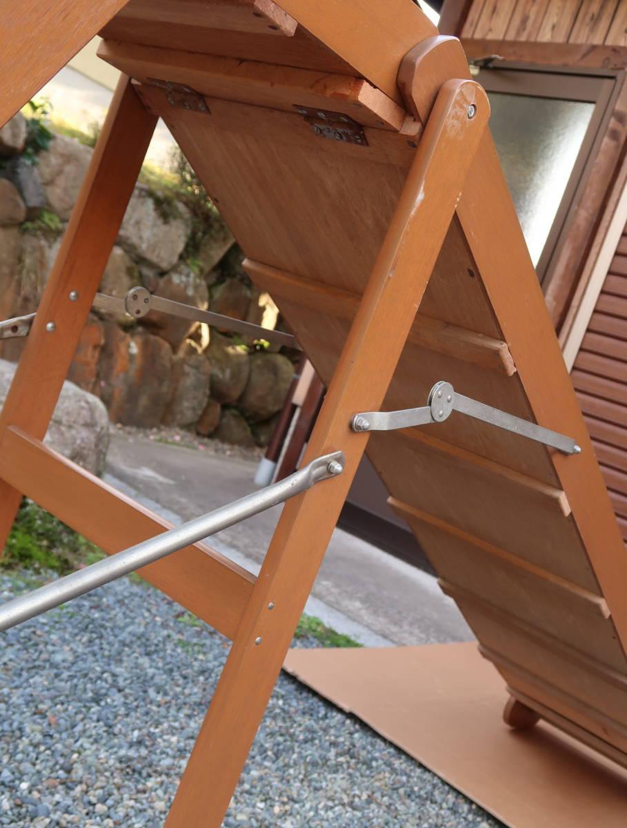 木製 レトロ 滑り台  長期保管中古品_画像8