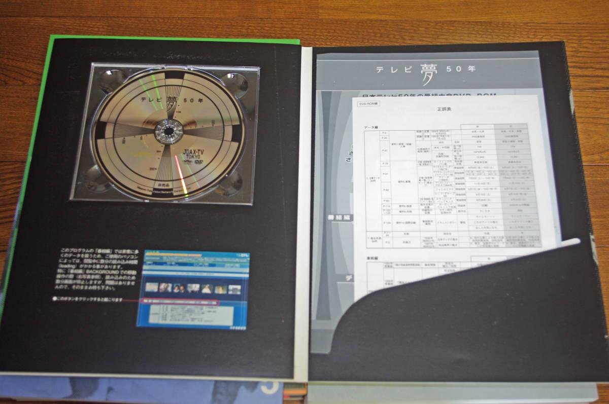 ◇テレビ夢50年 9冊揃い 2004年 非売品 日本テレビ放送網 DVDあり即決送料無料_画像5