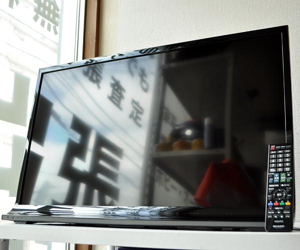 ★14年製 シャープ アクオス ハイビジョン 液晶テレビ LC-32J10★_画像1