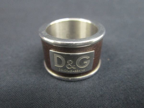 622★ss D&G ドルチェ&ガッバーナ ドルガバ リング ジュエリー アクセサリー 指輪 ユニセックス