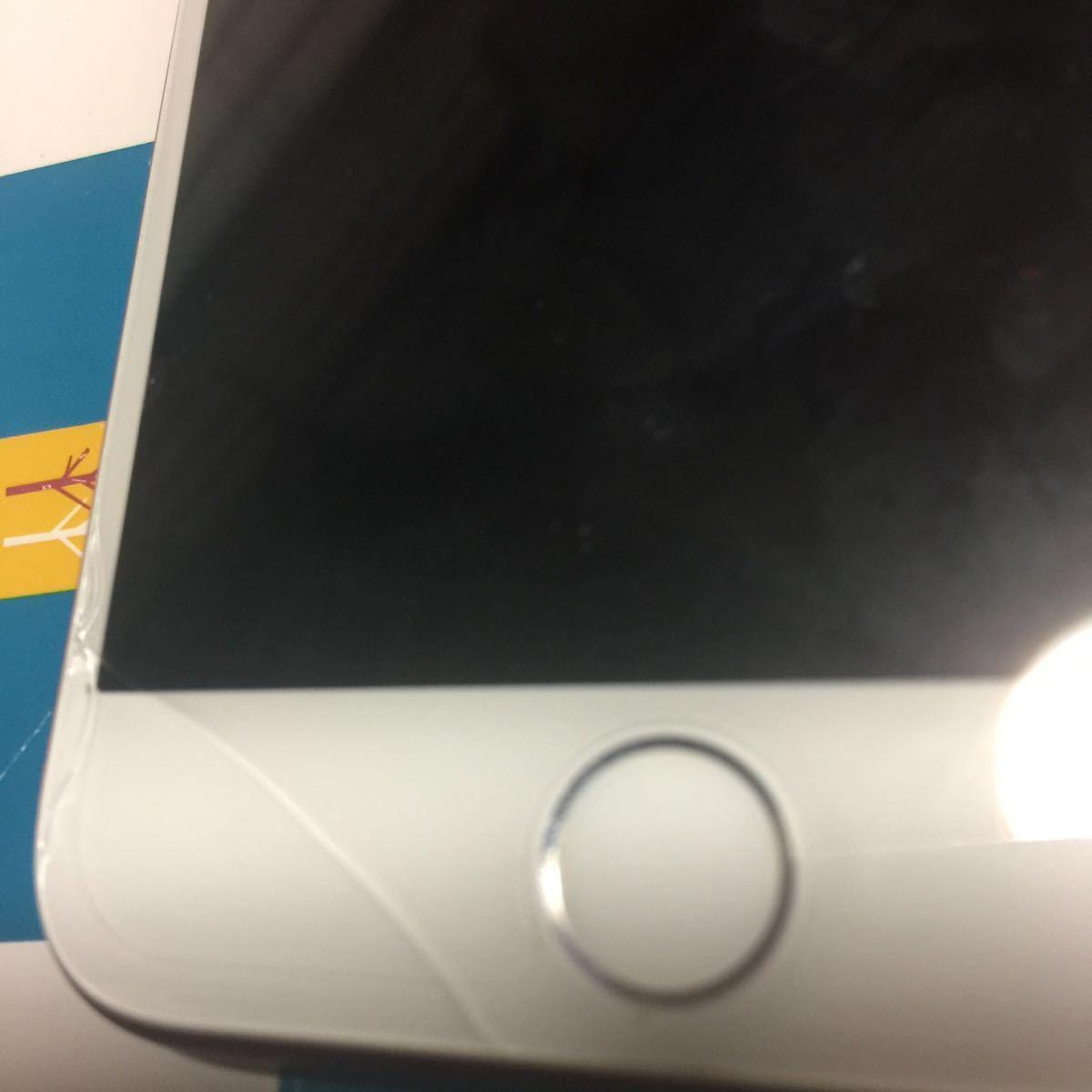 au iPhone 7 128GB (PRODUCT) レッド 本体 携帯 中古 スマホ apple アップル[ ジャンク] 送料無料。 全体 全体的に状態が悪い。_画像4
