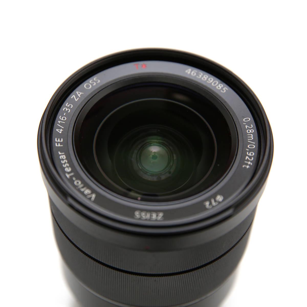 SONY 広角 Vario-Tessar T* FE 16-35mm F4 ZA OSS Eマウント35mmフルサイズ対応 SEL1635Z _画像3