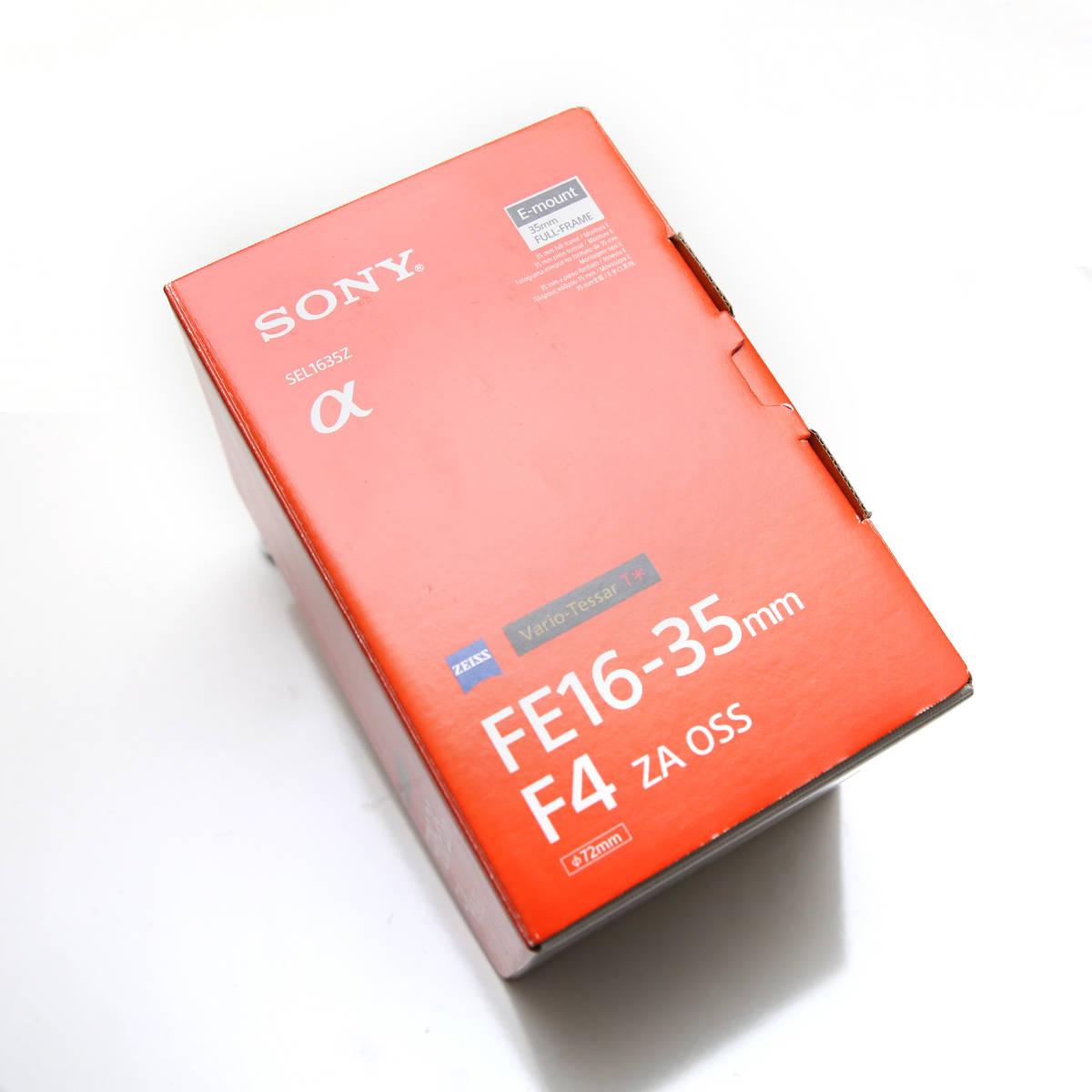 SONY 広角 Vario-Tessar T* FE 16-35mm F4 ZA OSS Eマウント35mmフルサイズ対応 SEL1635Z _画像4