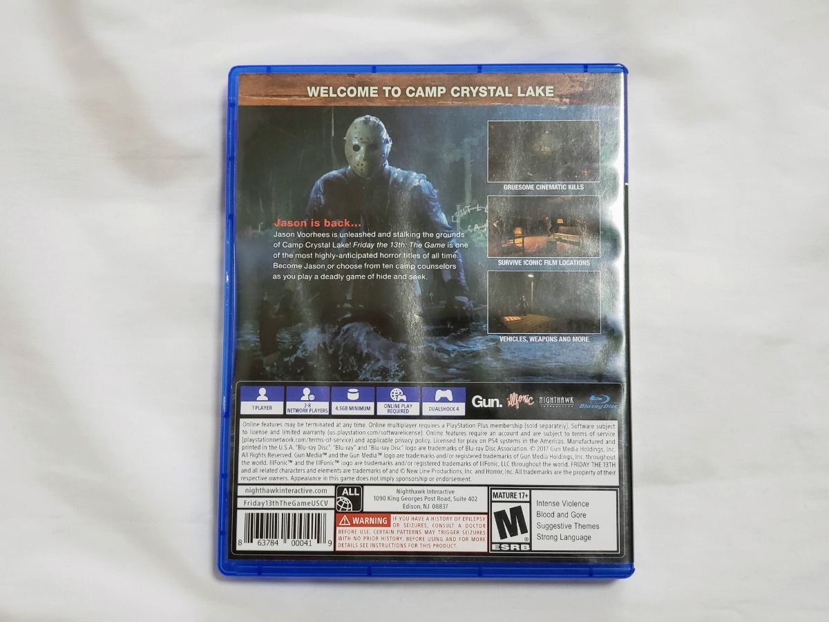 【PS4】FRIDAY THE 13TH THEGAME / 13日の金曜日_画像2