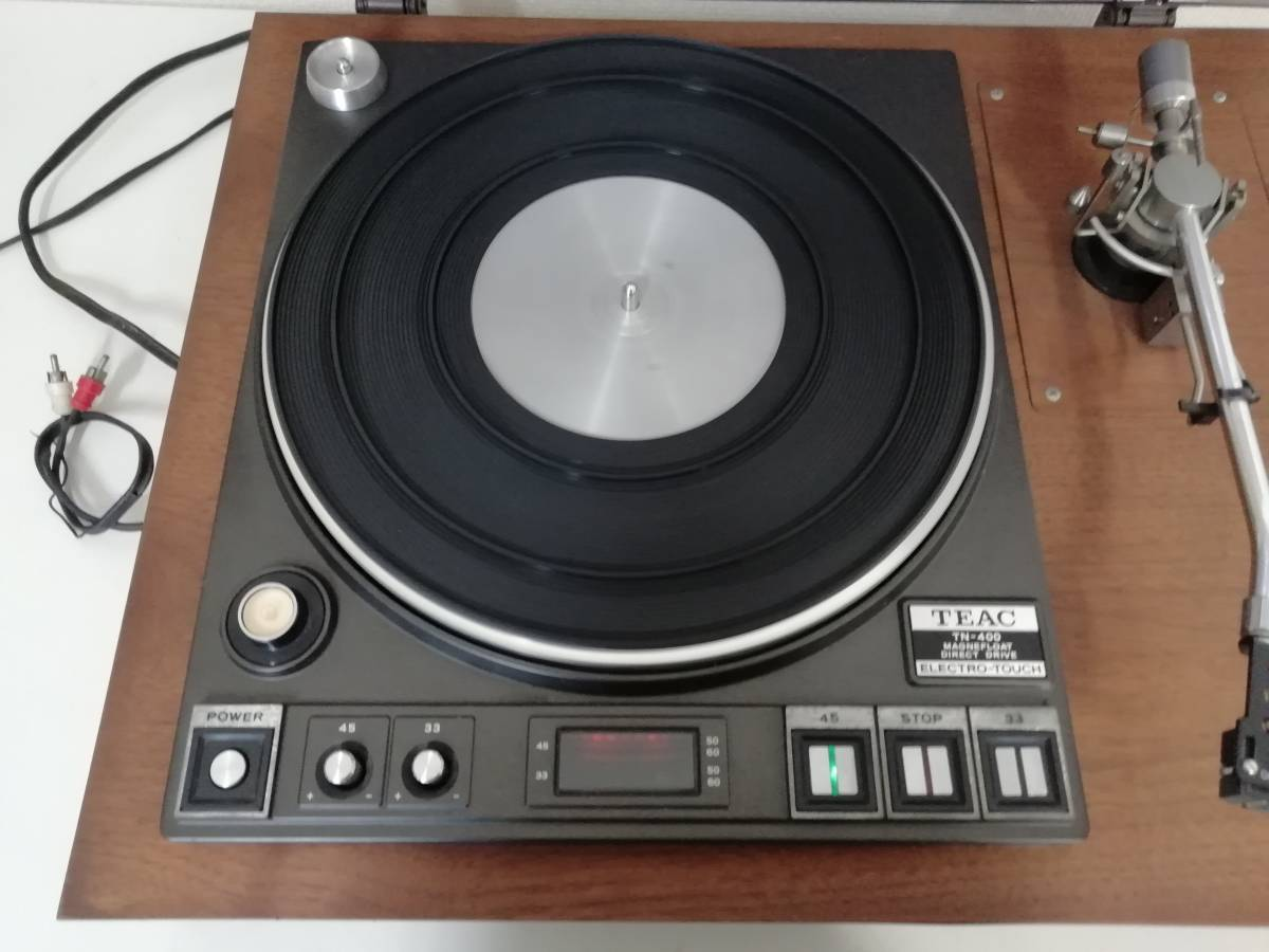 TEAC TN-400 Teac electro Touch Direct Drive system turntable record player Junk secondhand goods
