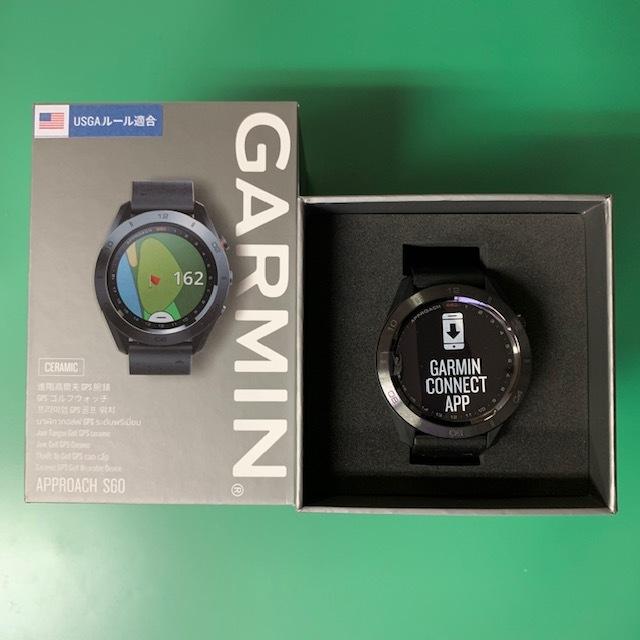 ★新品未使用品★(ガーミン/GARMIN)ゴルフ_GPSナビ【Approach S60 Ceramic】セラミック 腕時計型(日本正規品)_画像1