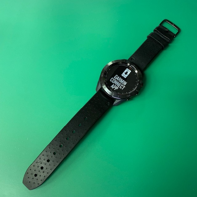 ★新品未使用品★(ガーミン/GARMIN)ゴルフ_GPSナビ【Approach S60 Ceramic】セラミック 腕時計型(日本正規品)_画像2