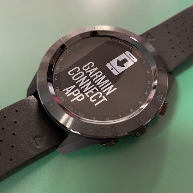 ★新品未使用品★(ガーミン/GARMIN)ゴルフ_GPSナビ【Approach S60 Ceramic】セラミック 腕時計型(日本正規品)_画像3