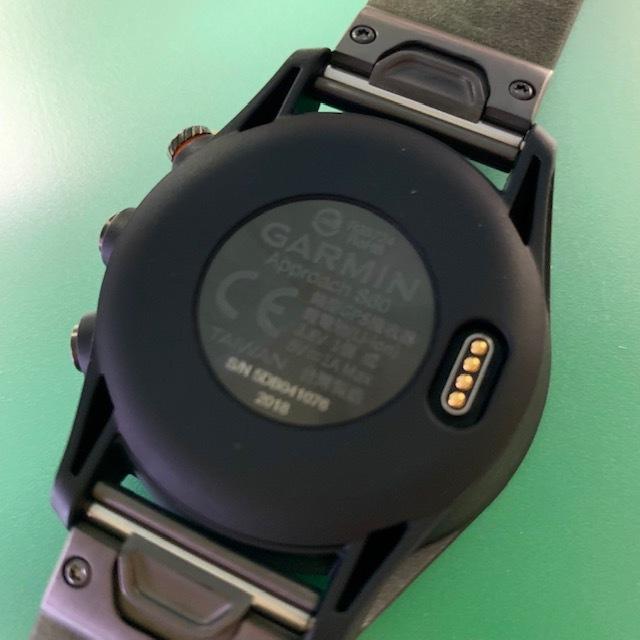 ★新品未使用品★(ガーミン/GARMIN)ゴルフ_GPSナビ【Approach S60 Ceramic】セラミック 腕時計型(日本正規品)_画像4