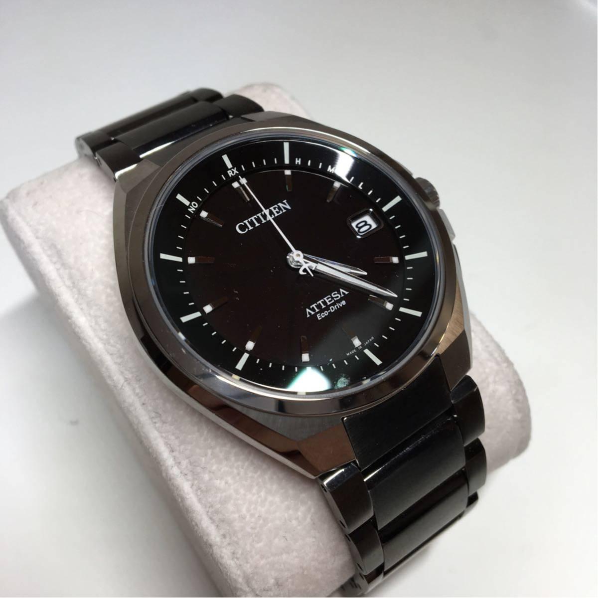 CITIZEN シチズン エコドライブ ATTESA 美品 ジャンク メンズ 腕時計