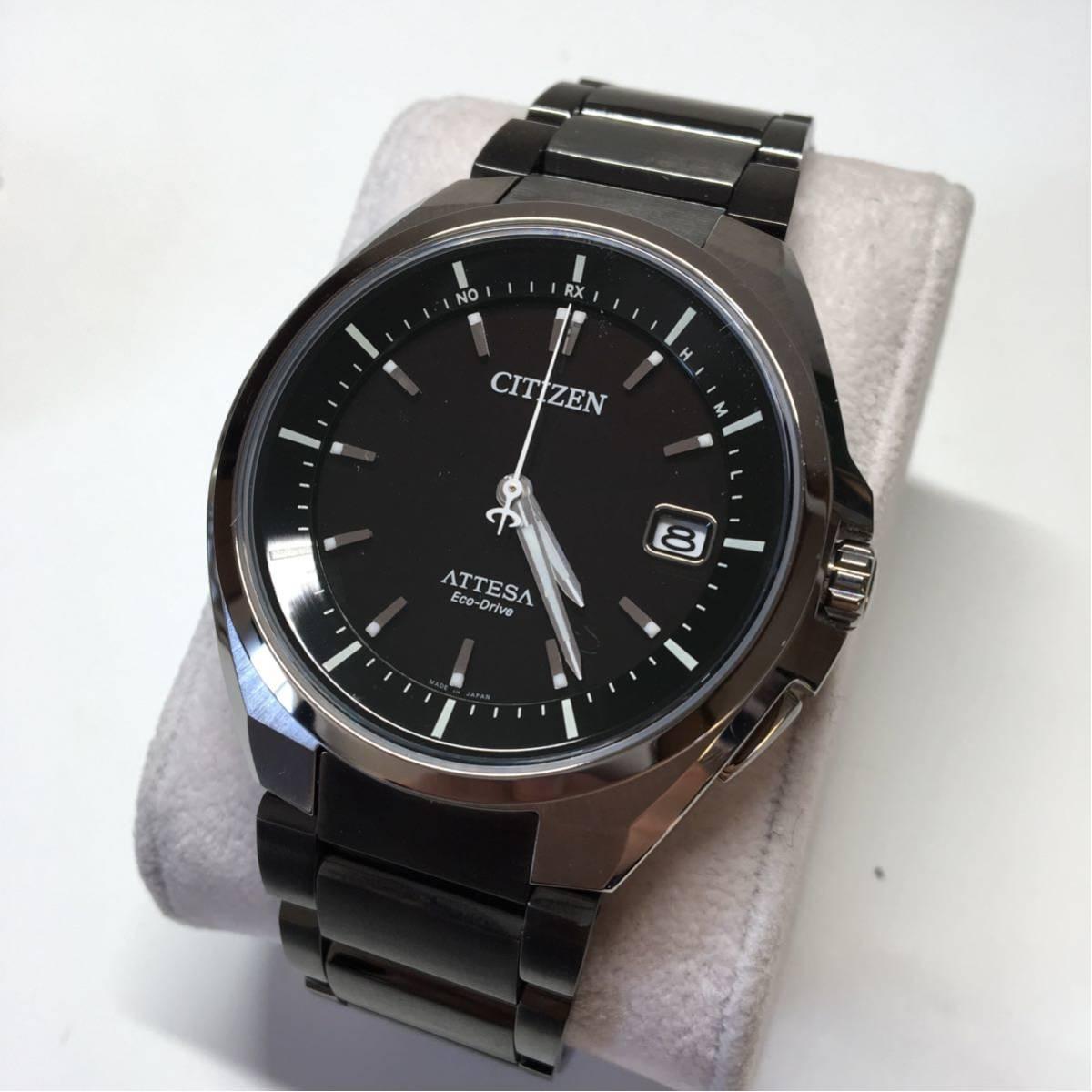 CITIZEN シチズン エコドライブ ATTESA 美品 ジャンク メンズ 腕時計_画像2