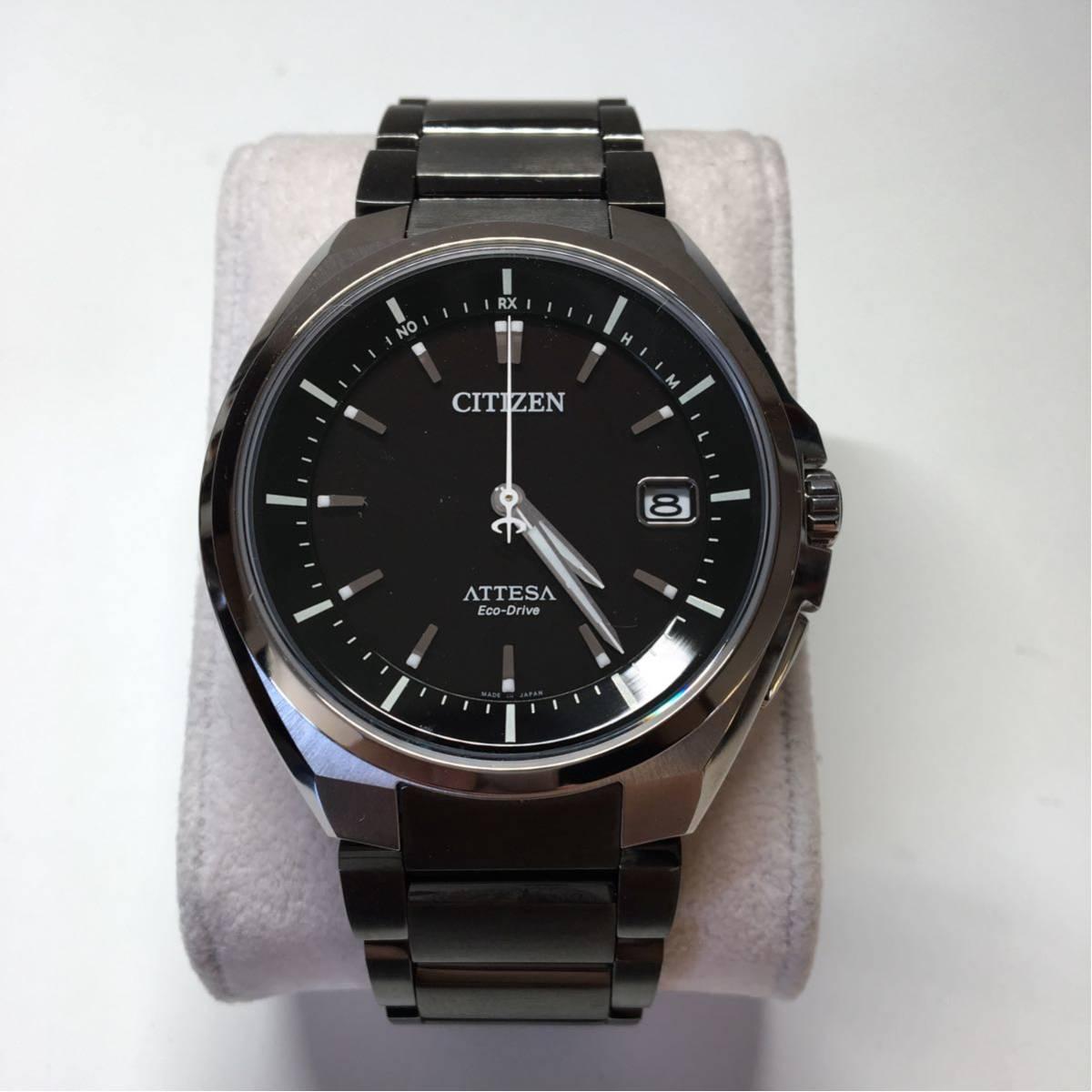 CITIZEN シチズン エコドライブ ATTESA 美品 ジャンク メンズ 腕時計_画像3