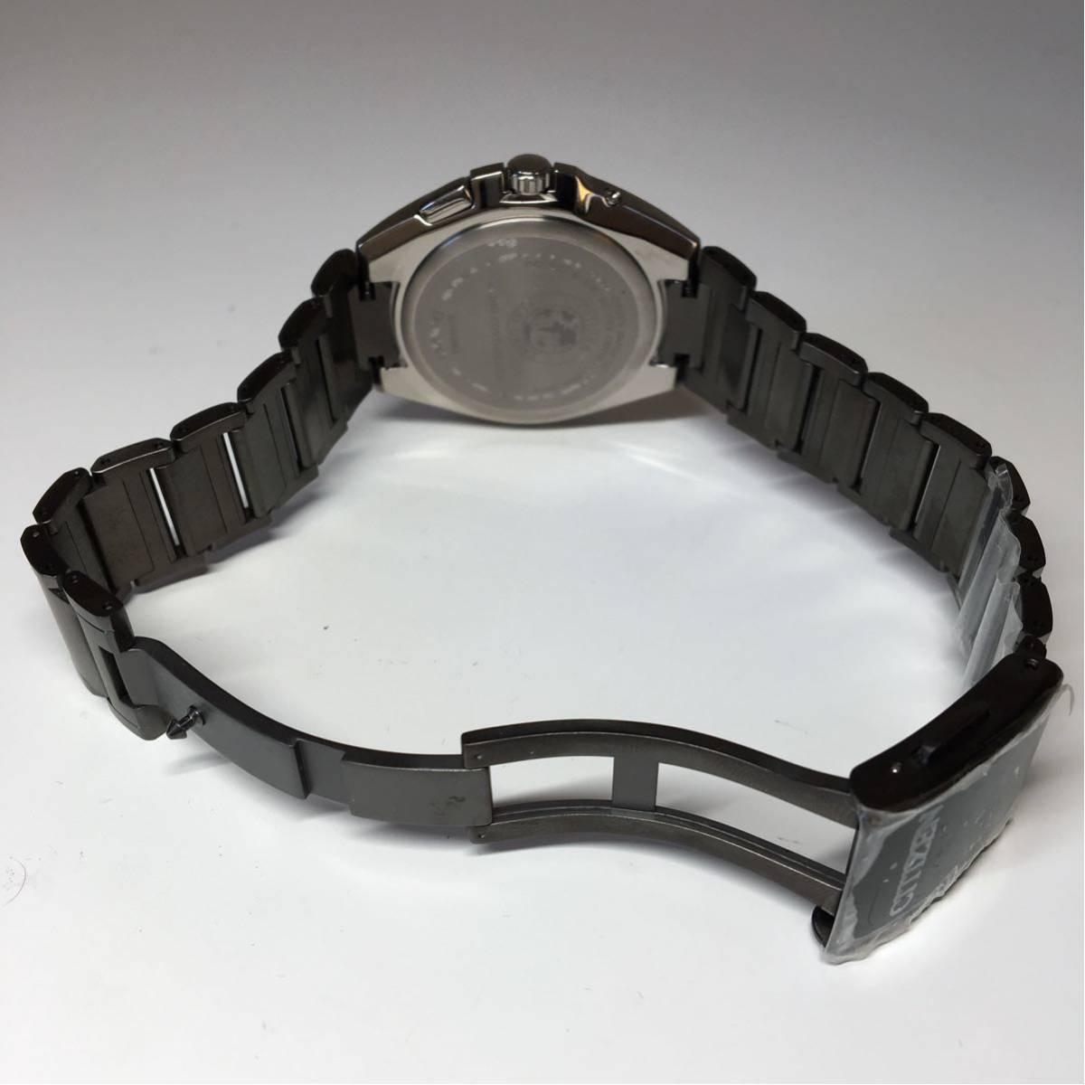 CITIZEN シチズン エコドライブ ATTESA 美品 ジャンク メンズ 腕時計_画像8