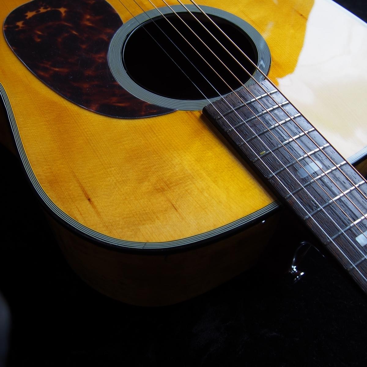レア 虎杢 全単板 オールラッカー オーバーホール済 ヴィンテージ アコースティックギター _画像5