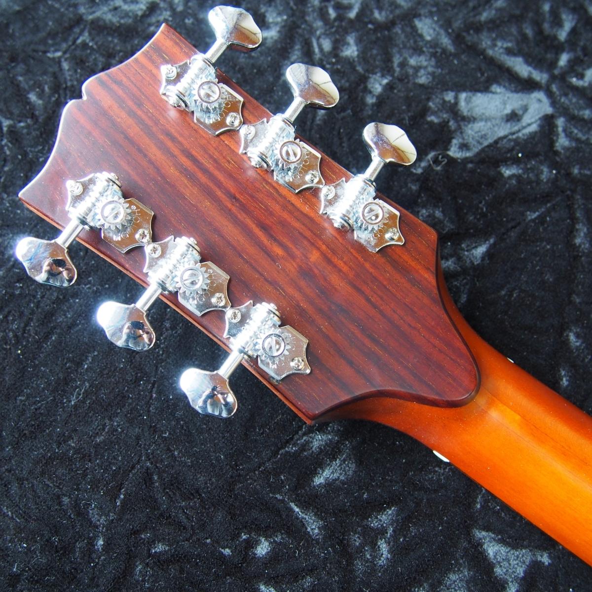 レア 虎杢 全単板 オールラッカー オーバーホール済 ヴィンテージ アコースティックギター _画像8