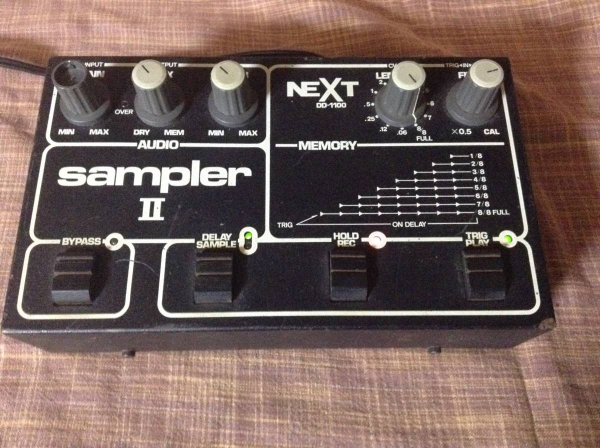 NEXT DD-1100 sampler II デジタル ディレイ、サンプラー_画像6