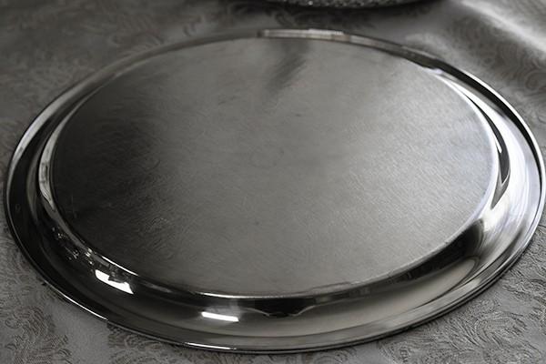 シルバープレート ケーキトレイ サーバー ジュエリー 香水瓶トレイ アンティーク ビンテージ インテリアディスプレイ 什器_画像4
