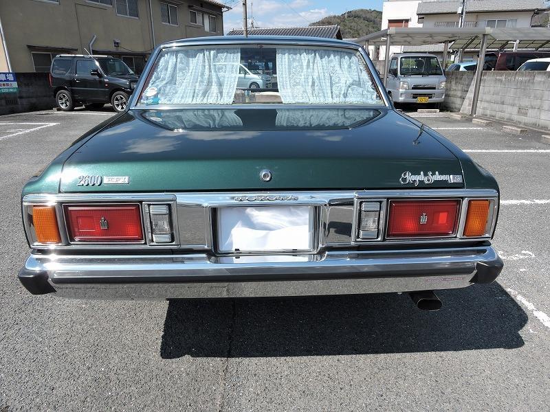 トヨタクラウン ロイヤルサルーン 昭和54式 MS106 美車 旧車_画像3