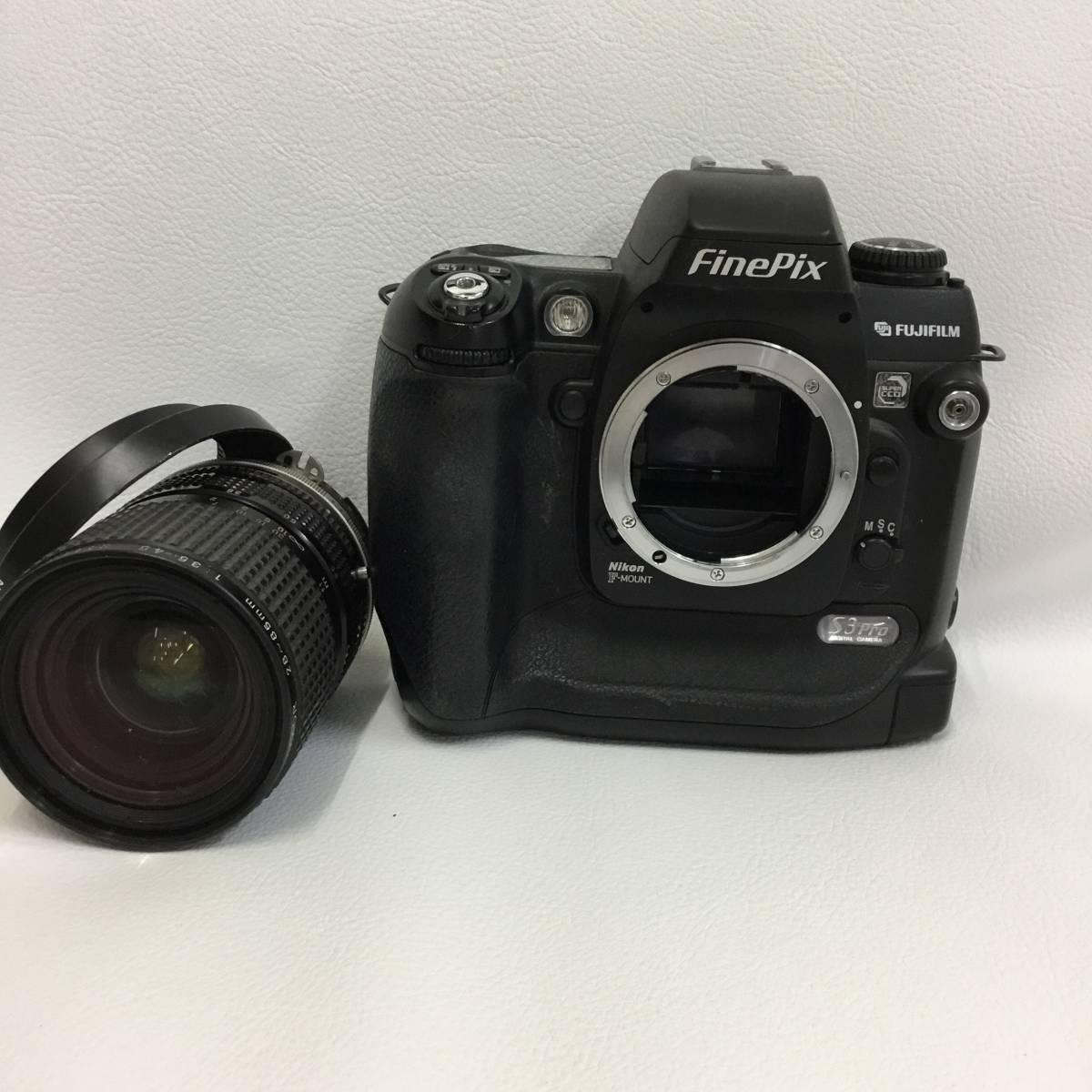 フジフィルム FUJIFILM Fine Pix S3Pro Zoom-NIKKOR 28-85mm ジャンク品